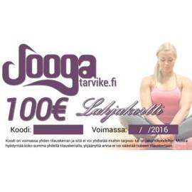 Jooga lahjakortti 100€